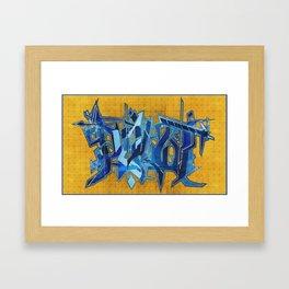 PILOT_GoldLeaf Framed Art Print