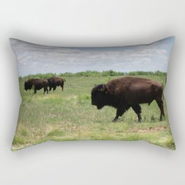Guiding the Herd Rectangular Pillow