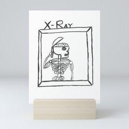 X-Rayin the Brain Mini Art Print
