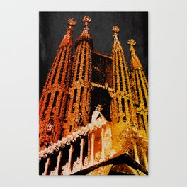 Sagrada Familia - unfinished Canvas Print