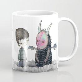 Meeting my Monster Coffee Mug