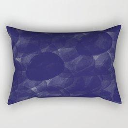 Navy With Love Rectangular Pillow