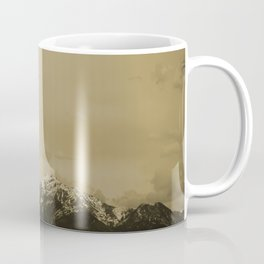 Utah Mountain in Sepia Coffee Mug