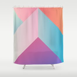 Ultra Geometric Shower Curtain