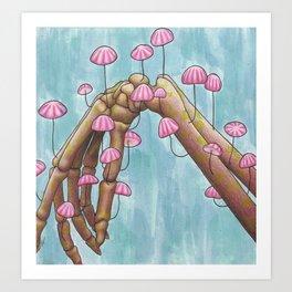 Pretty in Parachute Art Print