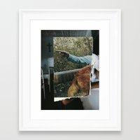 sister Framed Art Prints featuring Sister by Nicholas Lockyer