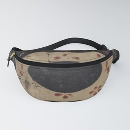 Vintage Japanese lacquer box pattern Fanny Pack