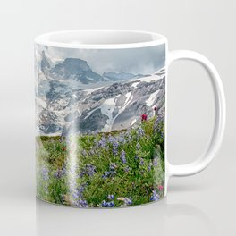 Scenic Landscape Art, Mt. Rainier, Mt. Rainier National Park, Paradise Coffee Mug