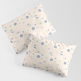 Brux & Boggle #2: Floral Rats (light) Pillow Sham