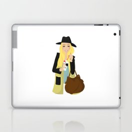 Ice cream girl Laptop & iPad Skin