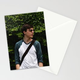Isaac in Green Stationery Cards