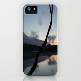 Sunset on lake, Nature Photography, Landscape Photos, sunset photos iPhone Case