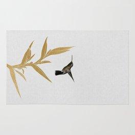 Hummingbird & Flower II Rug