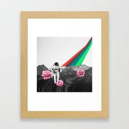 Lunar Flights Framed Art Print