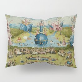 The Garden of Earthly Delights - Hieronymus Bosch Pillow Sham
