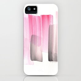 [161228] 25. Abstract Watercolour Color Study  Watercolor Brush Stroke iPhone Case