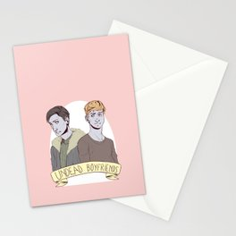 undead boyfriends Stationery Cards