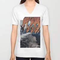tame impala V-neck T-shirts featuring Impala by Lerson