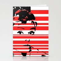 audrey Stationery Cards featuring Audrey by Heaven7