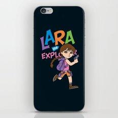 Lara the Explorer iPhone & iPod Skin
