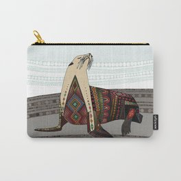 sea lion mono Carry-All Pouch