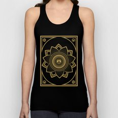 Peace Lotus Unisex Tank Top