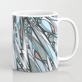 Cathedral Abstract Contemporary Art Coffee Mug