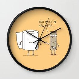 paperwork Wall Clock