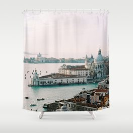 December Sunset, Venice Shower Curtain