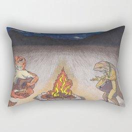 Lizard Jam Rectangular Pillow