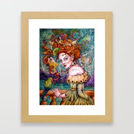 A Pirate Queen's Memory Framed Art Print