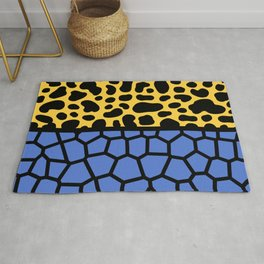 Memphis Style Spotted Pattern 632 Rug