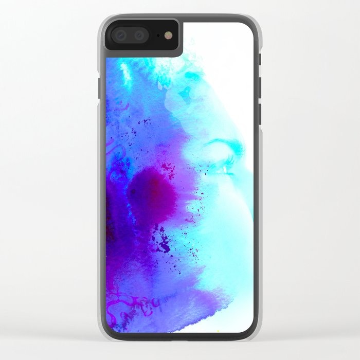EVERY WHERE Clear iPhone Case