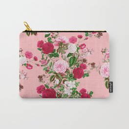 Spring In Bloom Pink Carry-All Pouch