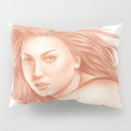 Woman Portrait 3 Pillow Sham
