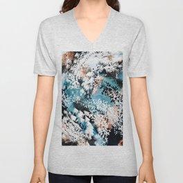 Oceana Abstract Unisex V-Neck