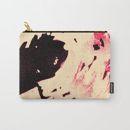 Peaches and Cream Wave for the Lovers Carry-All Pouch