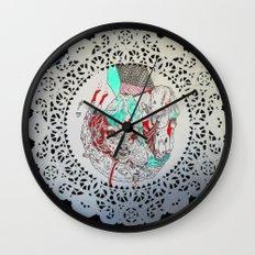 raw men Wall Clock