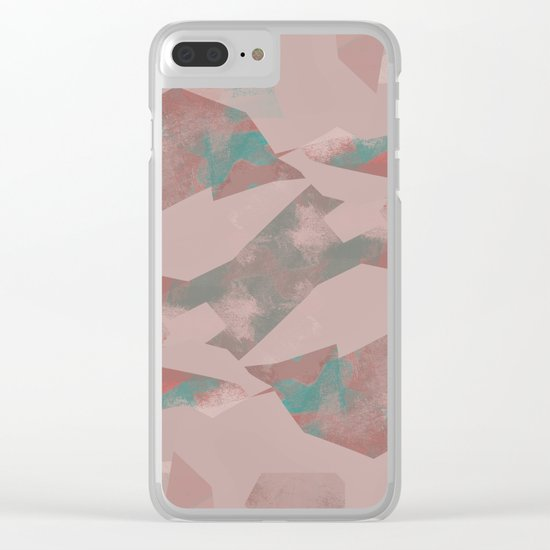 Camouflage XXX (color version) Clear iPhone Case