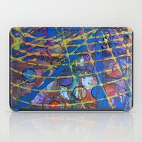 grid iPad Cases featuring Grid by Heather Plewes Art