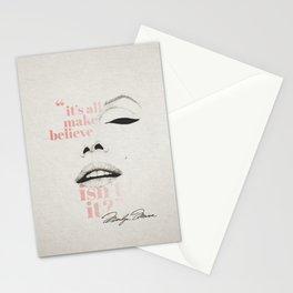 make believe Stationery Cards
