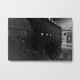 Powerstation Metal Print