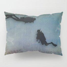 Scuba Divers Pillow Sham