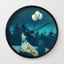 What the Hegg?! Wall Clock