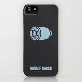 Donnie Darko Minimalist iPhone Case