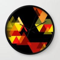 sesame street Wall Clocks featuring SESAME by Stephanie Eades