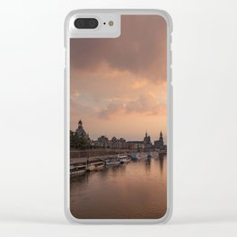 DRESDEN 09 Clear iPhone Case