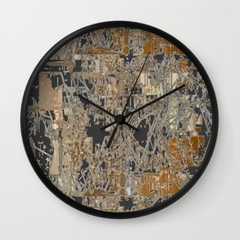 Steel factory II Wall Clock