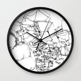 Dark Chocolate Wall Clock