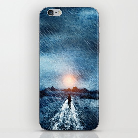it's raining again iPhone & iPod Skin